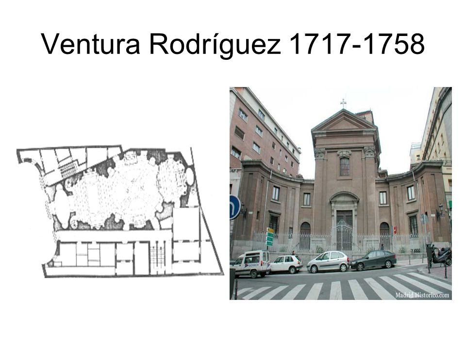Ventura Rodríguez 1717-1758