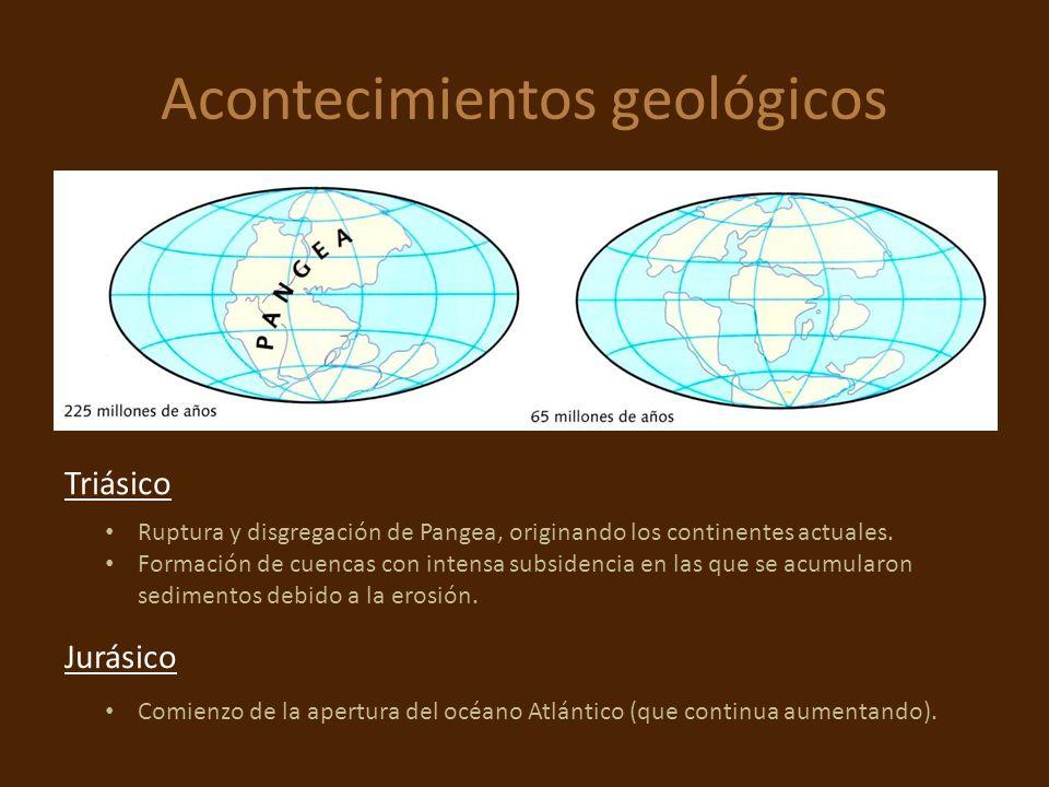 Acontecimientos geológicos