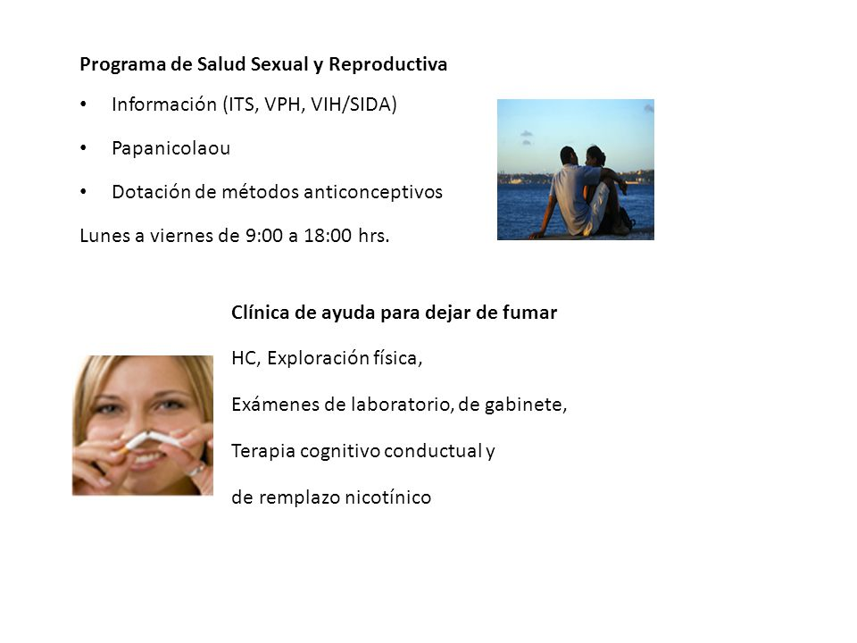 Programa de Salud Sexual y Reproductiva