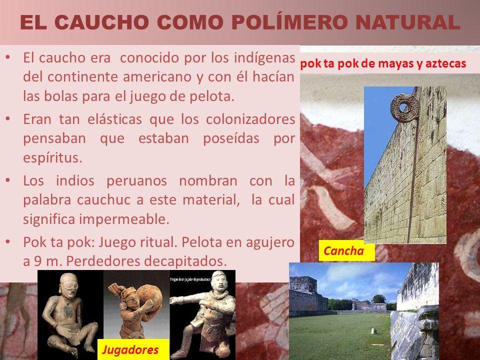 EL CAUCHO COMO POLÍMERO NATURAL