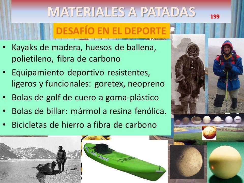 MATERIALES A PATADAS DESAFÍO EN EL DEPORTE