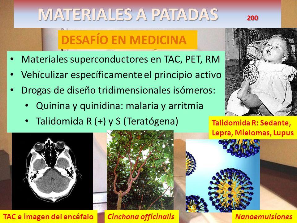 MATERIALES A PATADAS 200 DESAFÍO EN MEDICINA