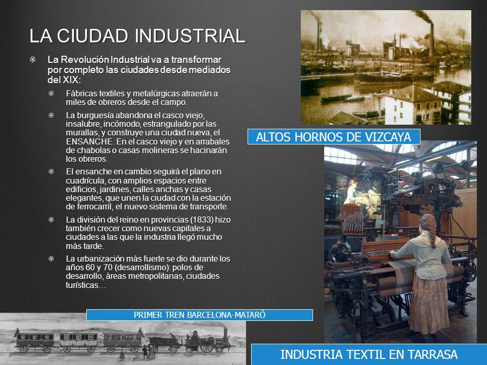 LA CIUDAD INDUSTRIAL ALTOS HORNOS DE VIZCAYA