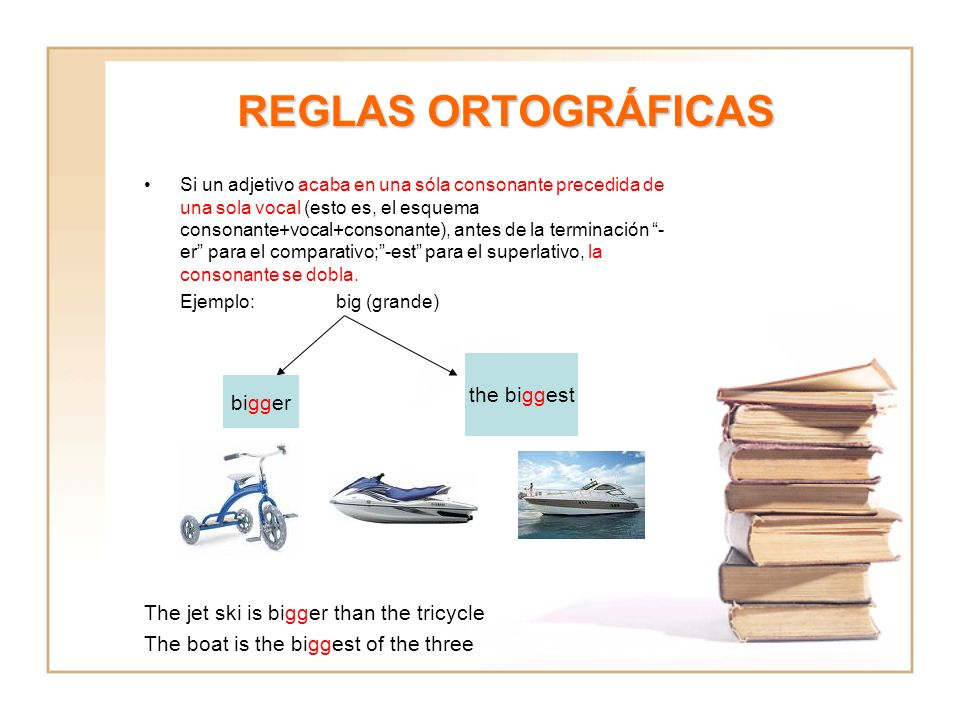 REGLAS ORTOGRÁFICAS the biggest