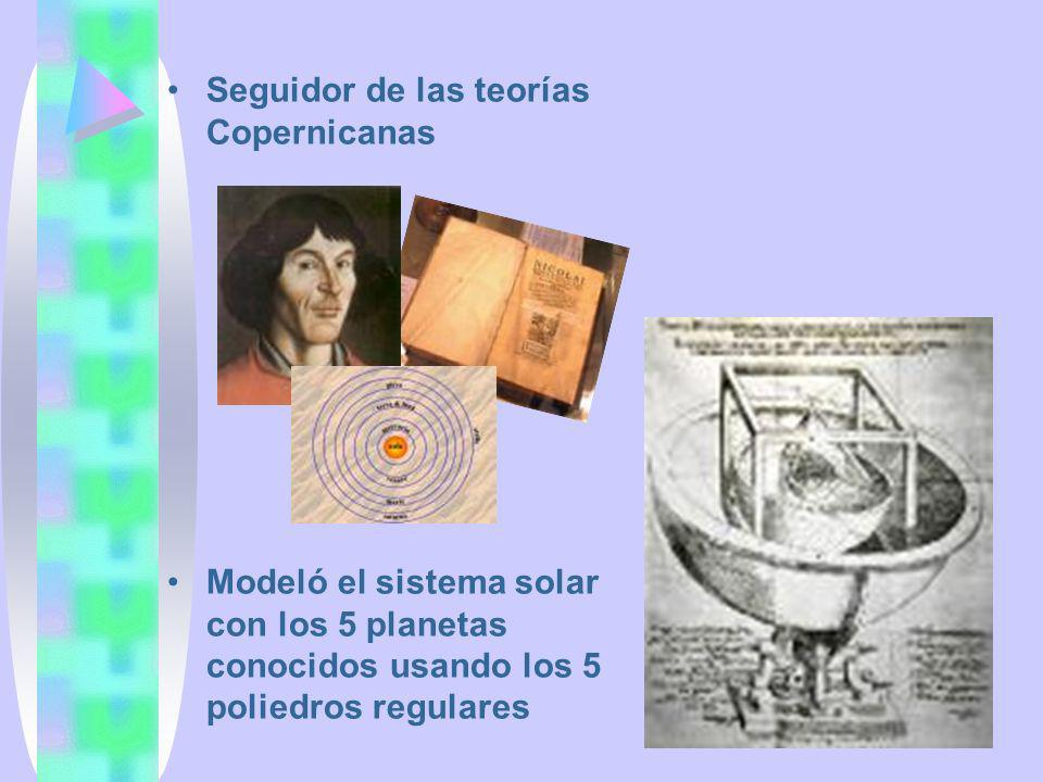 Seguidor de las teorías Copernicanas