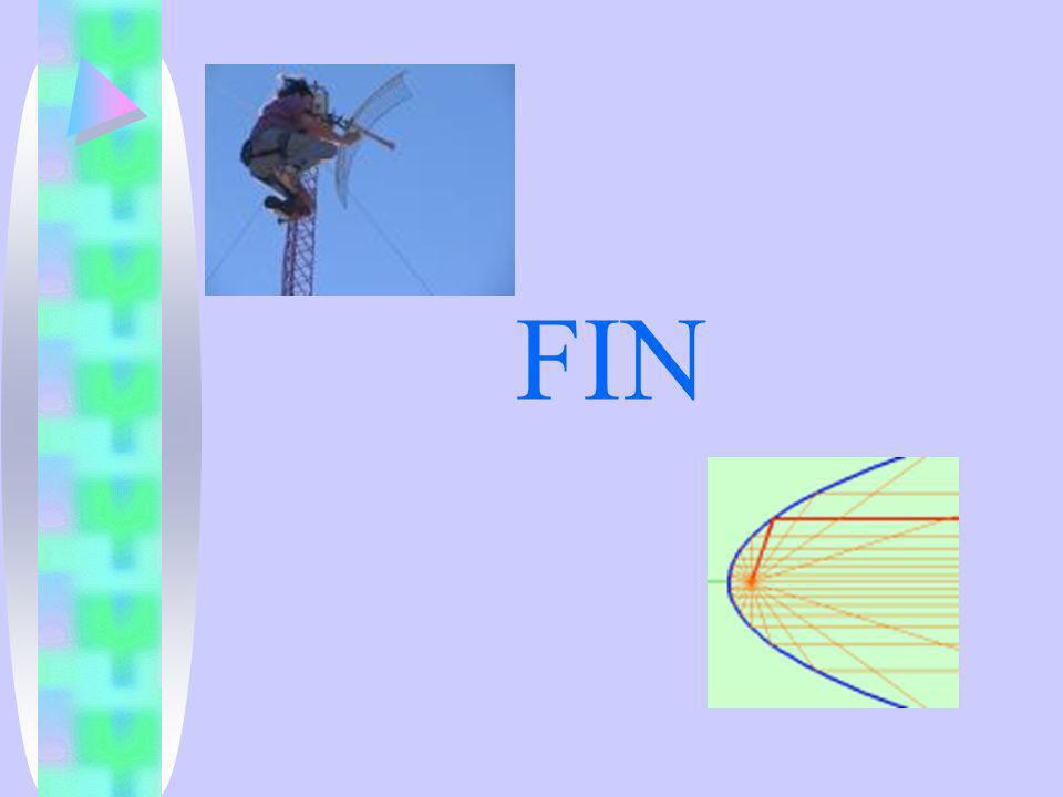 FIN Aunque se podría contar lo de la parábola y los rayos