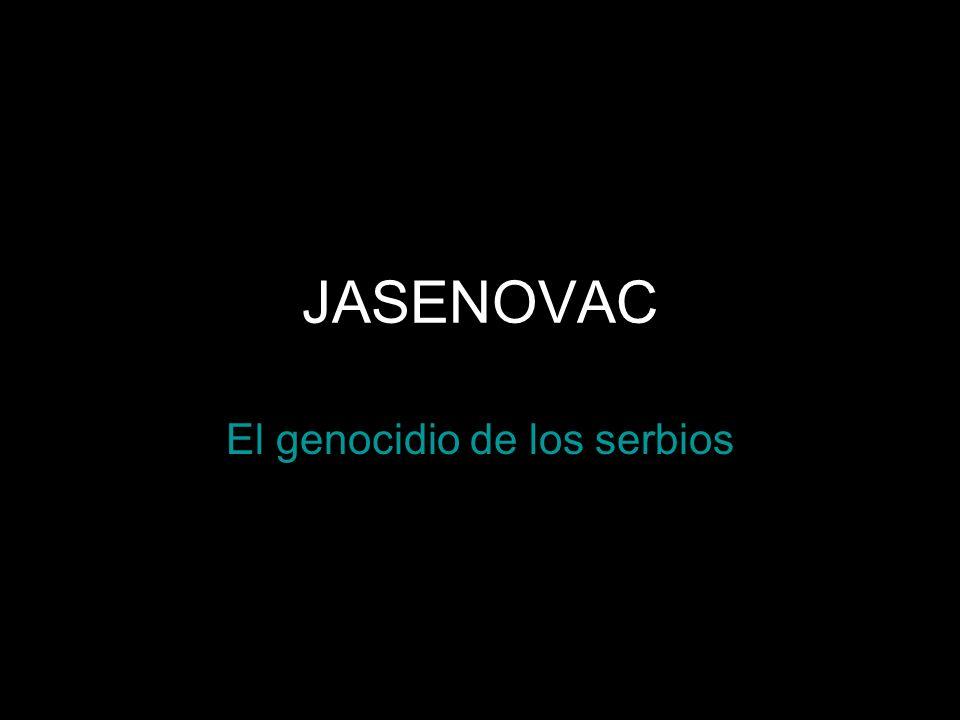 El genocidio de los serbios
