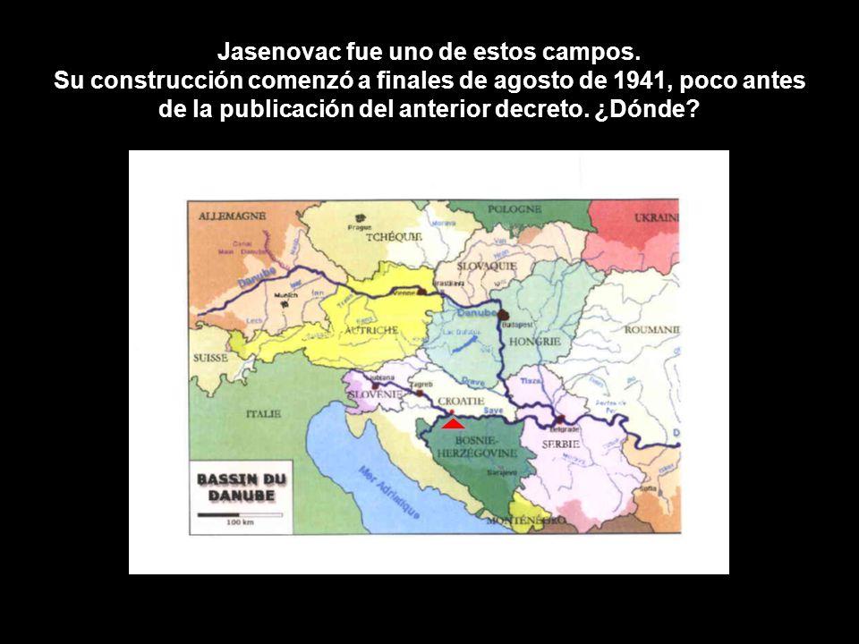 Jasenovac fue uno de estos campos