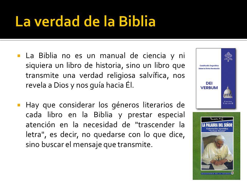La verdad de la Biblia