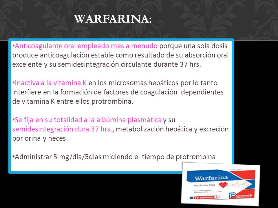 WARFARINA:
