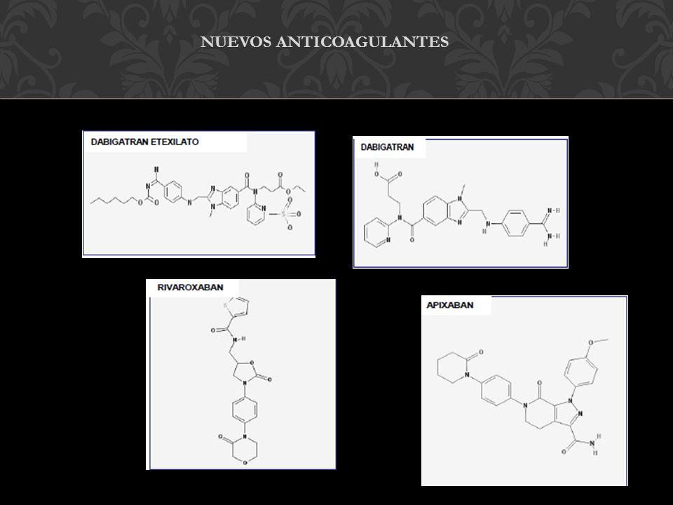 Nuevos anticoagulantes