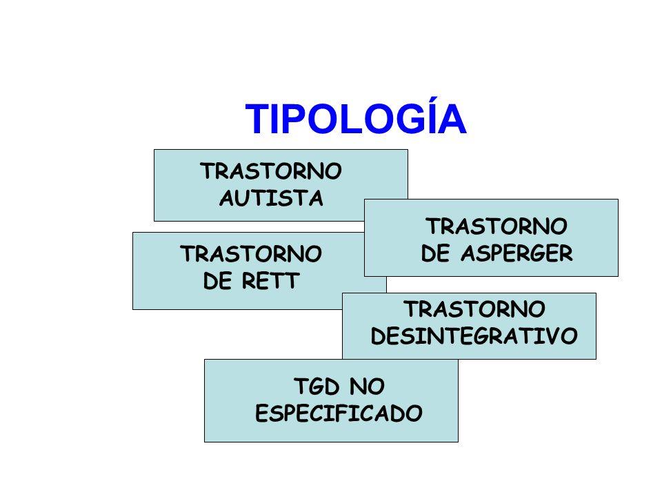 TRASTORNO DESINTEGRATIVO