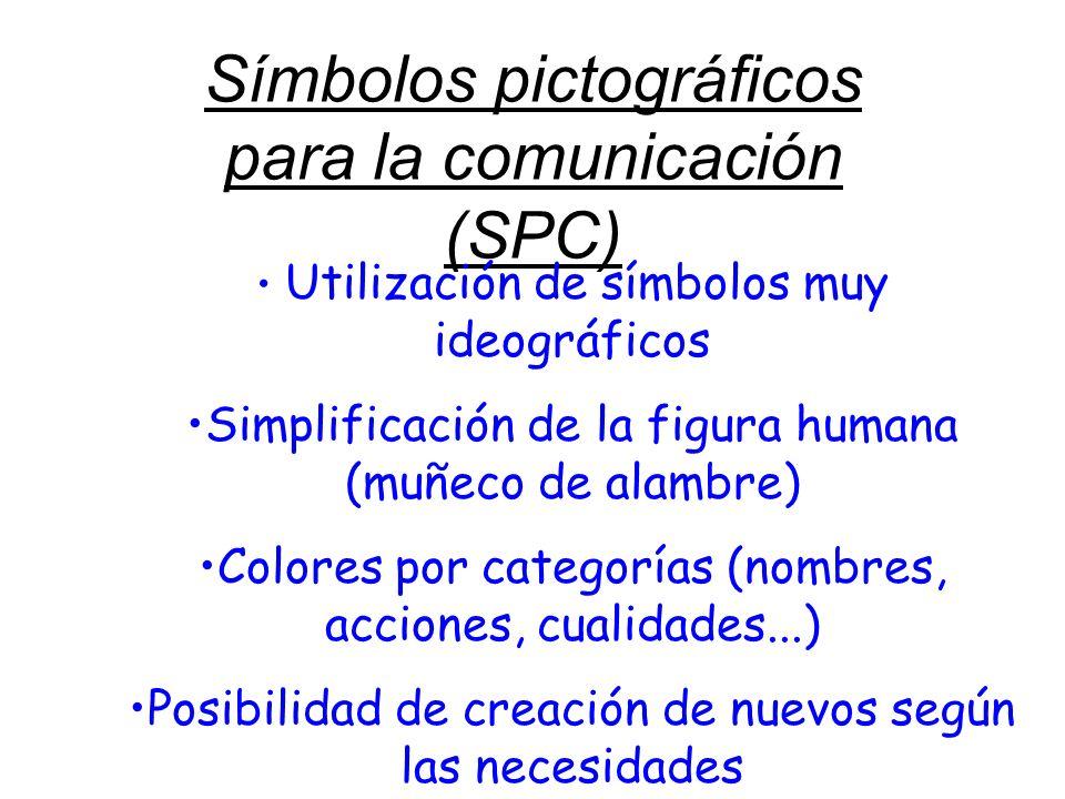 Símbolos pictográficos para la comunicación (SPC)