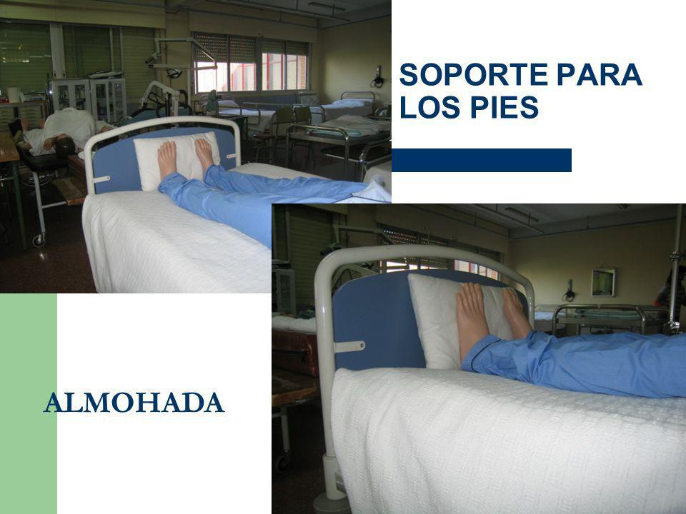 SOPORTE PARA LOS PIES ALMOHADA