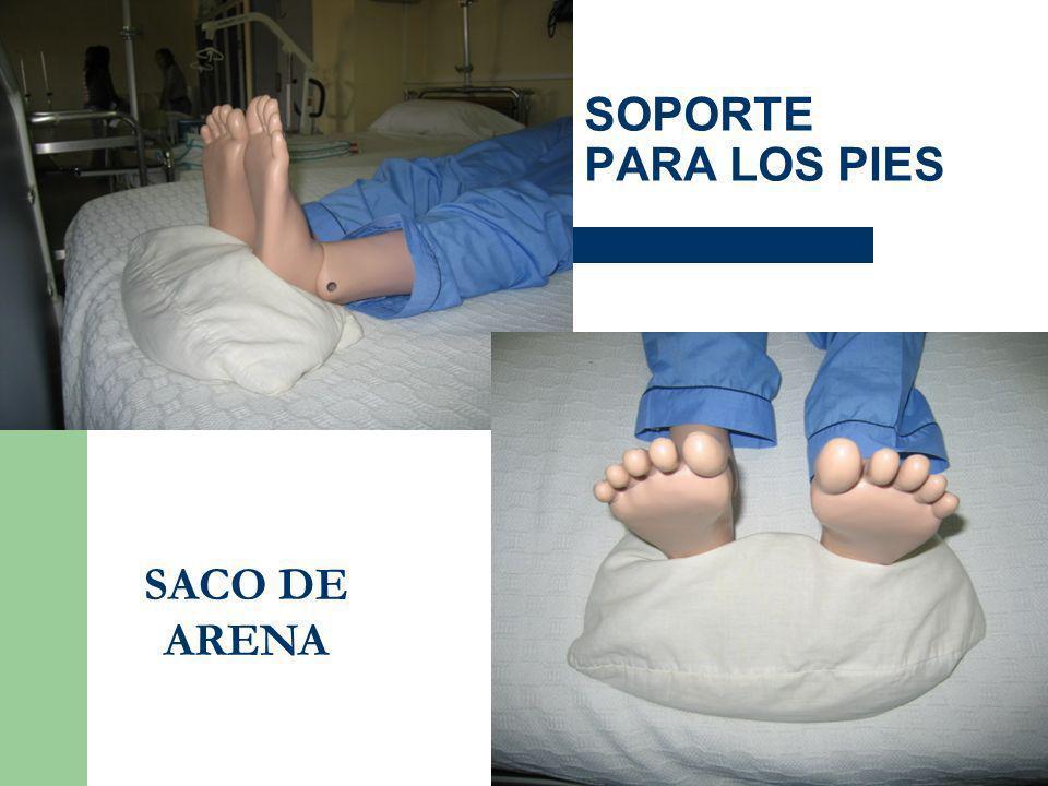 SOPORTE PARA LOS PIES SACO DE ARENA