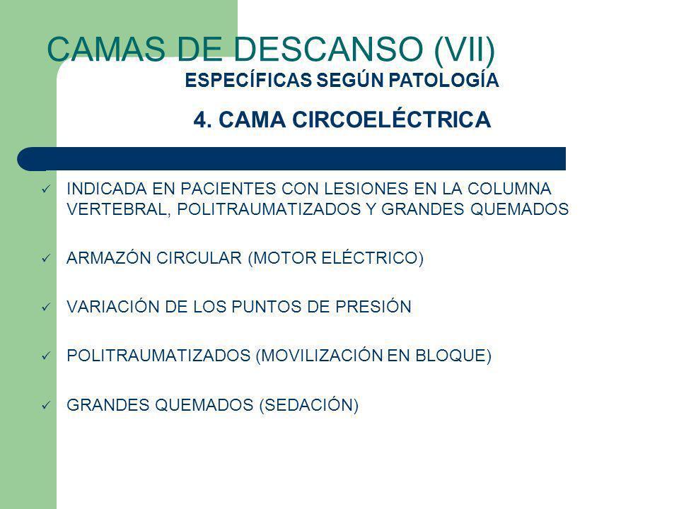 CAMAS DE DESCANSO (VII)