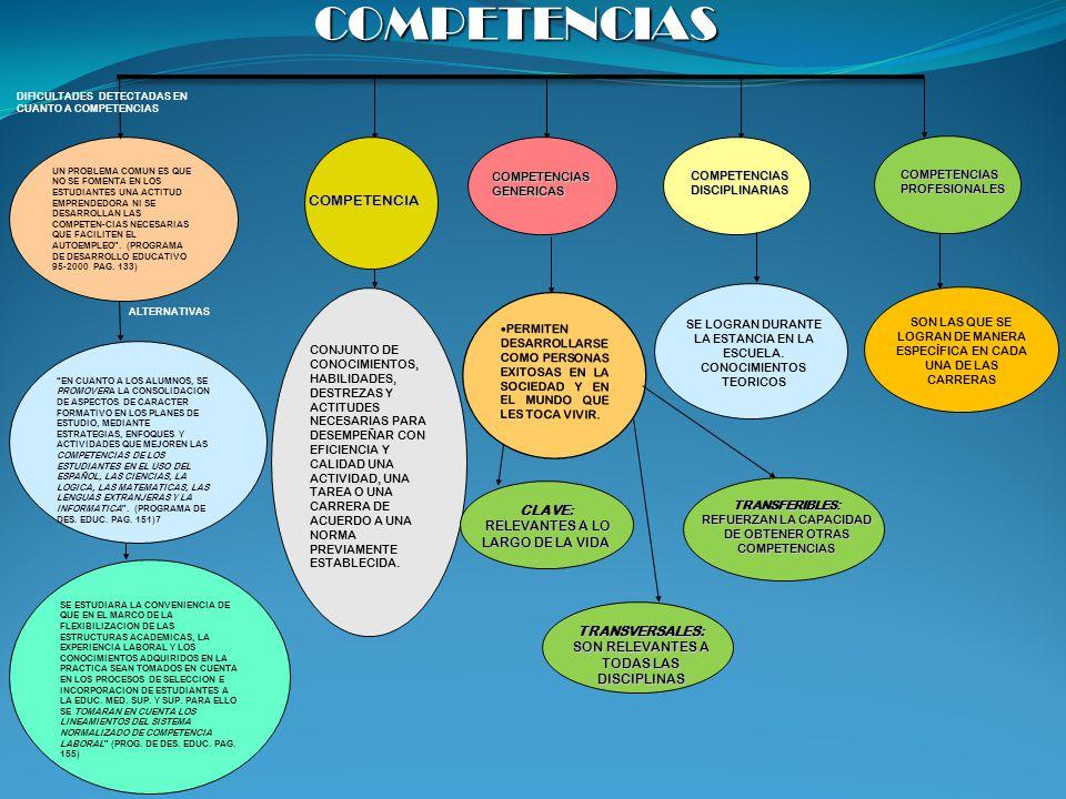 COMPETENCIAS COMPETENCIA CLAVE: RELEVANTES A LO LARGO DE LA VIDA
