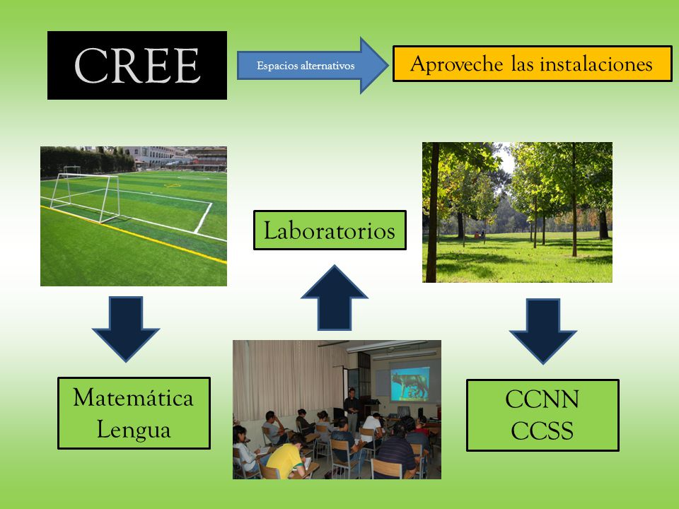 CREE Laboratorios Matemática CCNN Lengua CCSS