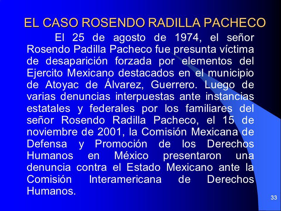 EL CASO ROSENDO RADILLA PACHECO