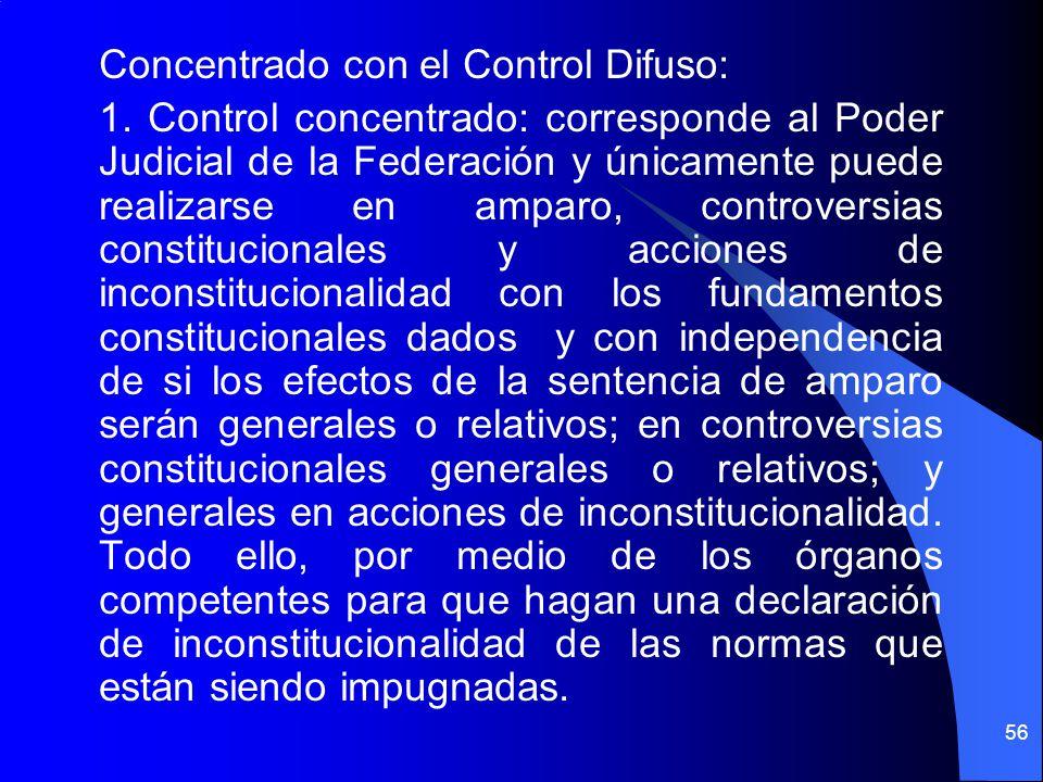 Concentrado con el Control Difuso: 1