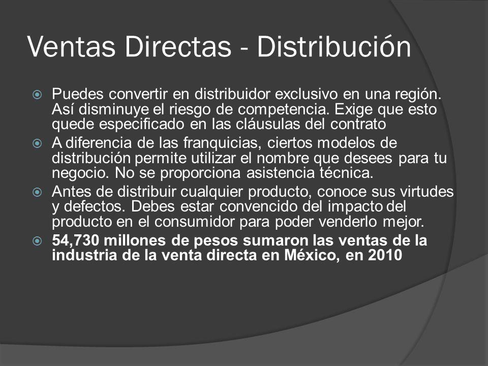 Ventas Directas - Distribución