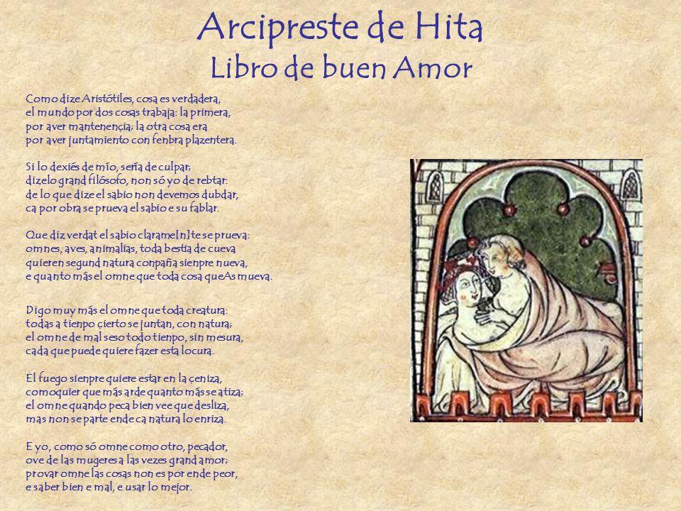 Arcipreste de Hita Libro de buen Amor