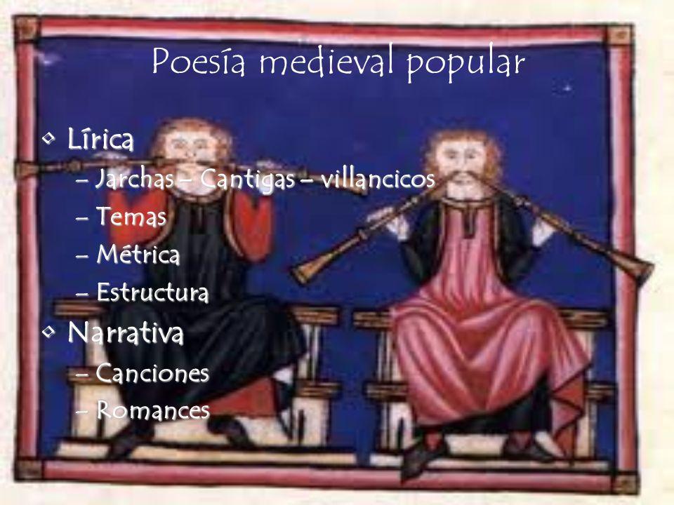Poesía medieval popular