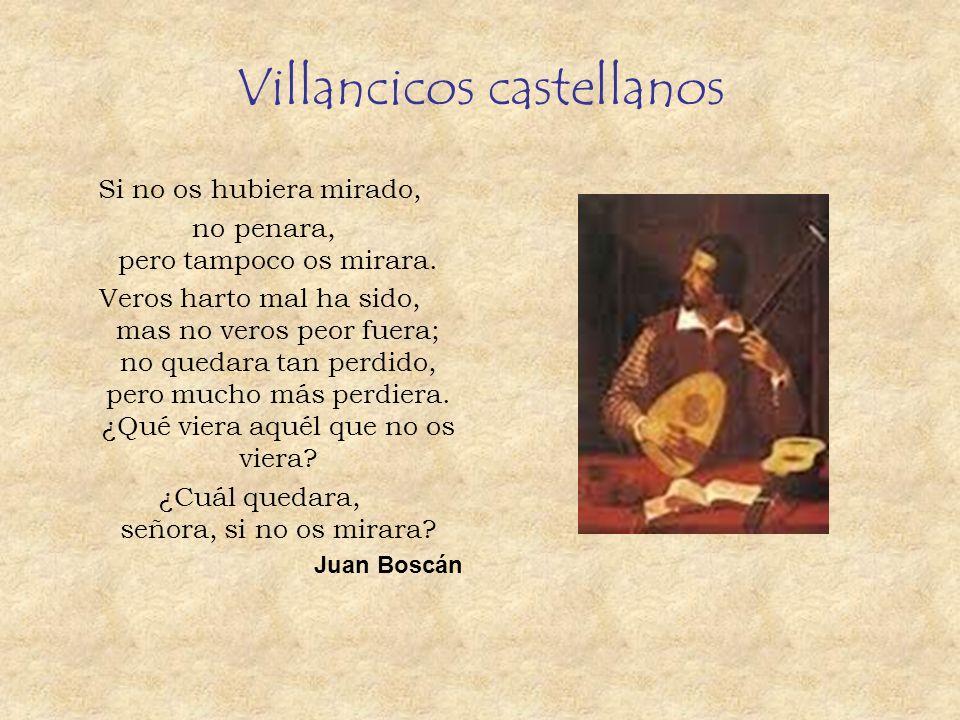 Villancicos castellanos
