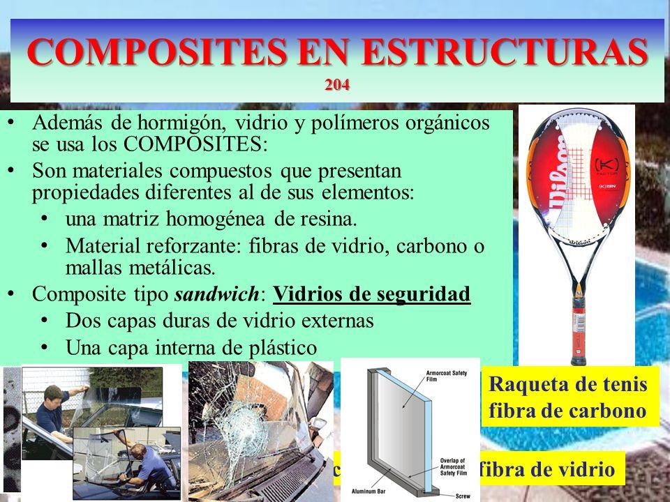 COMPOSITES EN ESTRUCTURAS 204