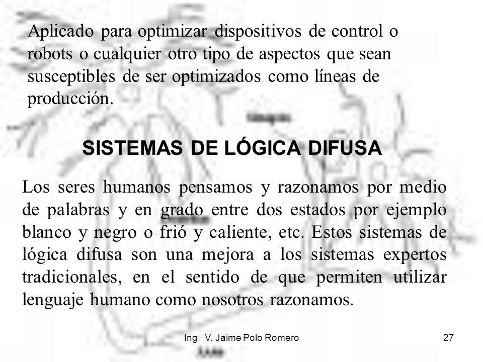 SISTEMAS DE LÓGICA DIFUSA
