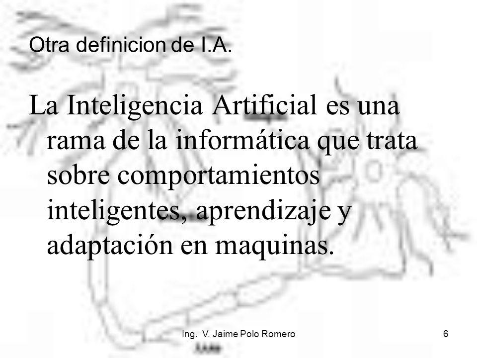 Otra definicion de I.A.