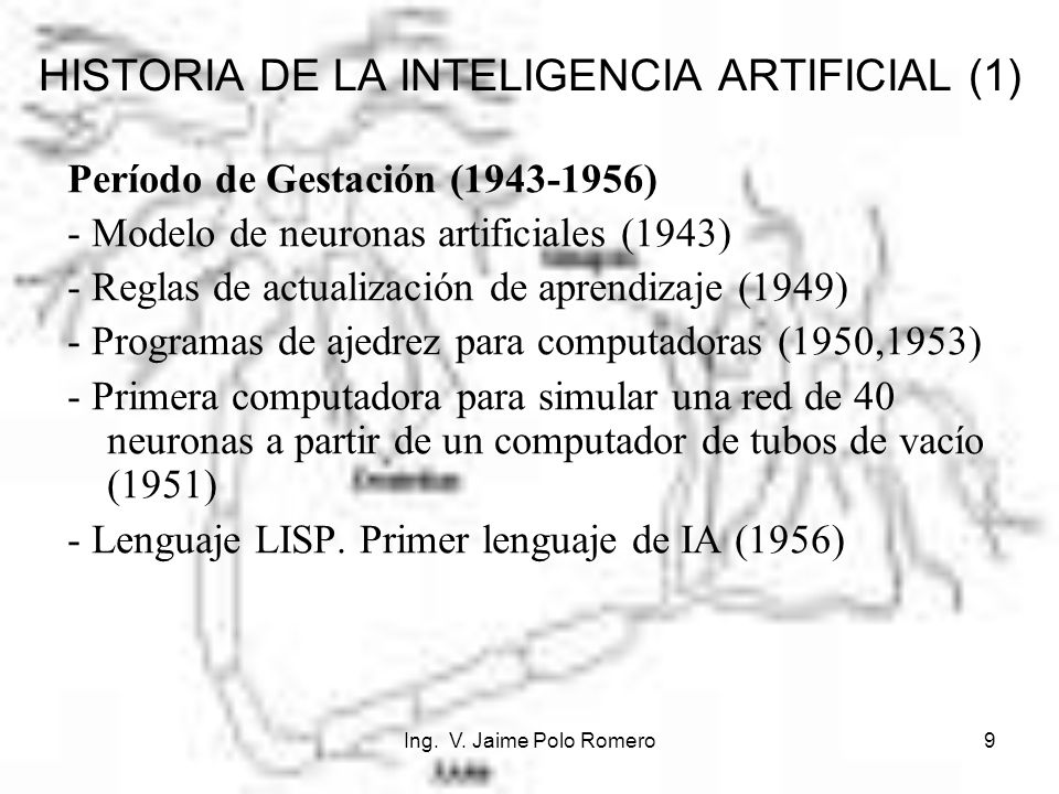 HISTORIA DE LA INTELIGENCIA ARTIFICIAL (1)