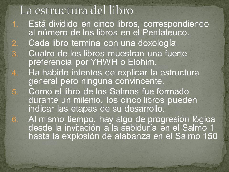 La estructura del libro