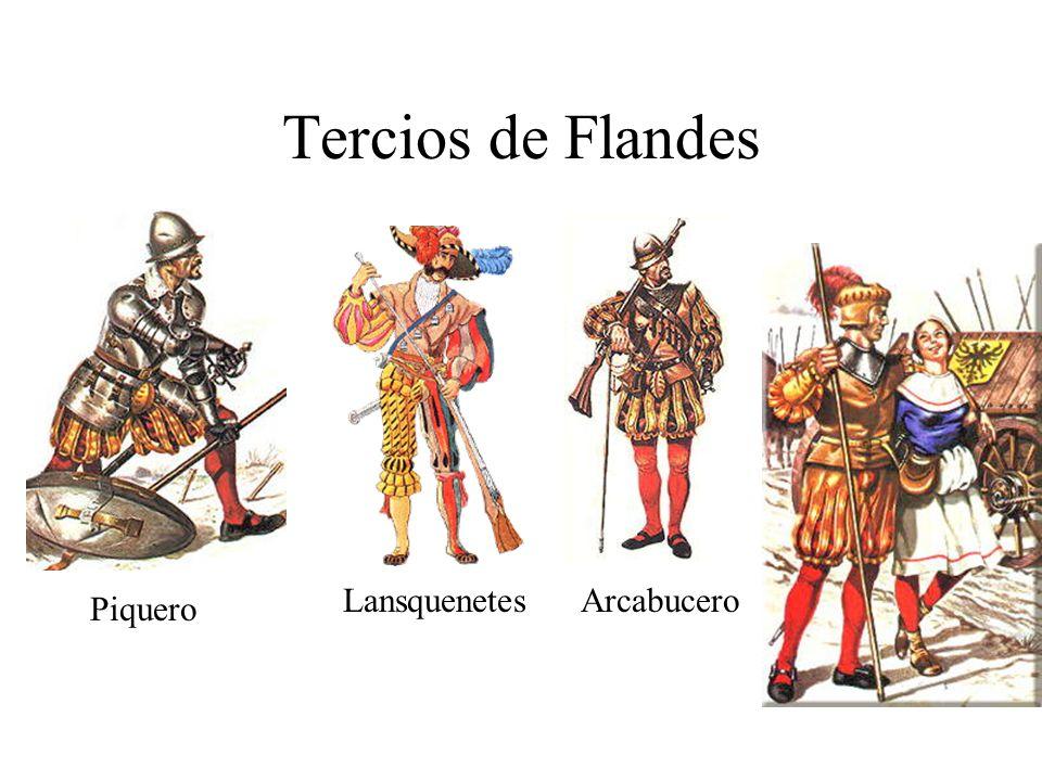 Tercios de Flandes Lansquenetes Arcabucero Piquero