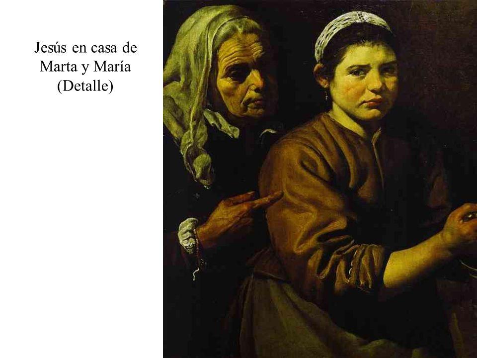 Jesús en casa de Marta y María (Detalle)