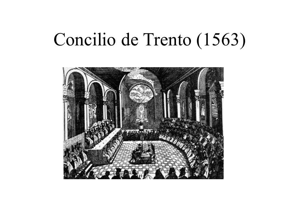 Concilio de Trento (1563)