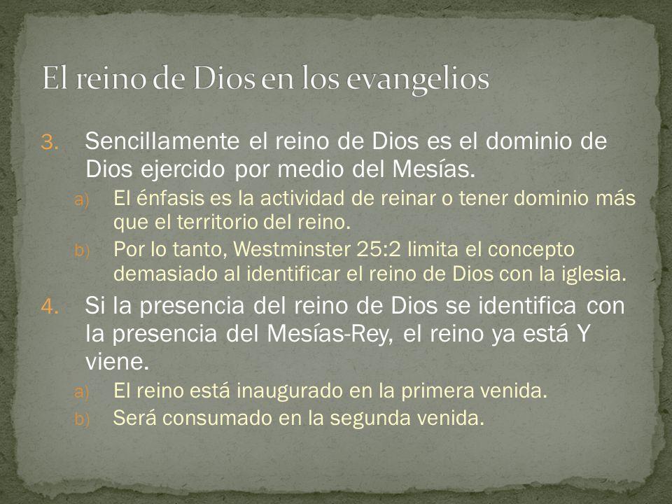 El reino de Dios en los evangelios