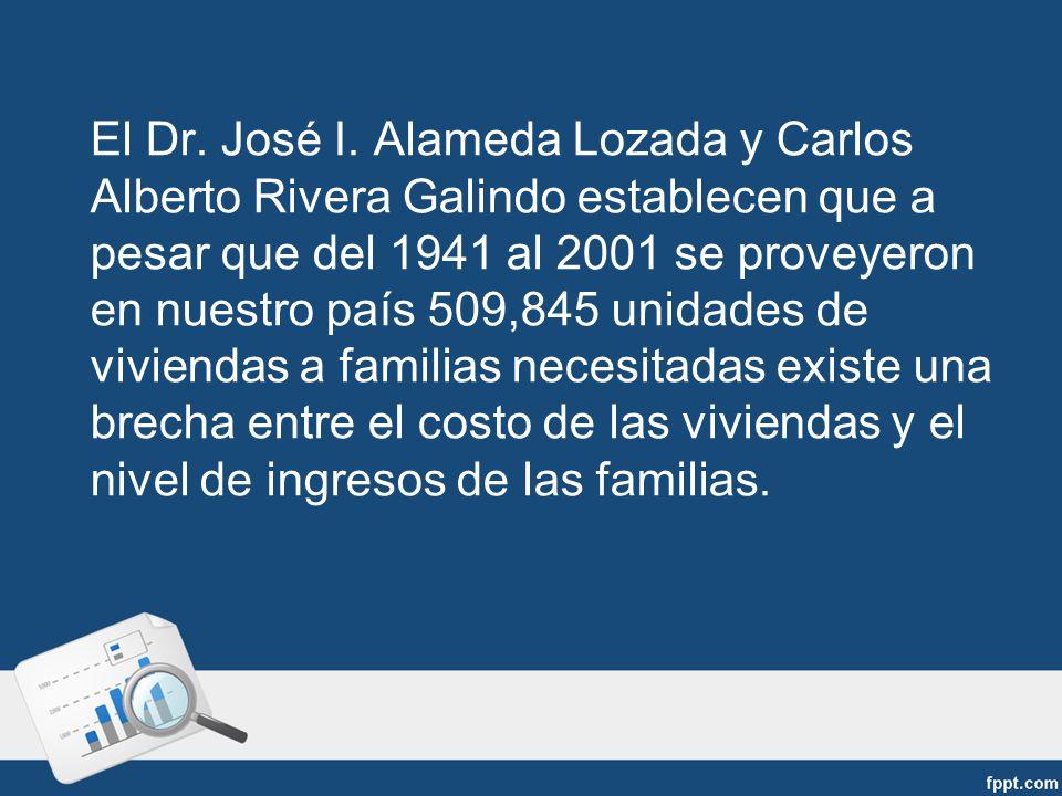 El Dr. José I.