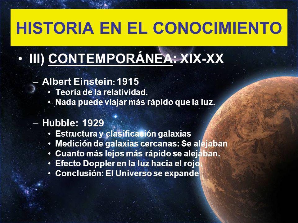 HISTORIA EN EL CONOCIMIENTO