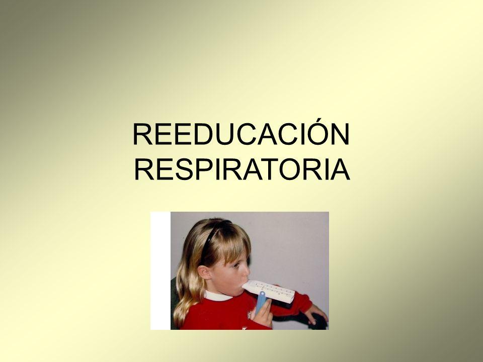 REEDUCACIÓN RESPIRATORIA