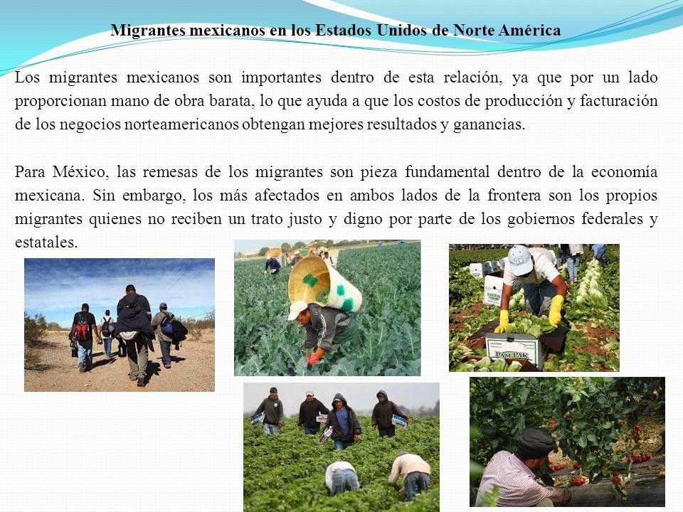 Migrantes mexicanos en los Estados Unidos de Norte América