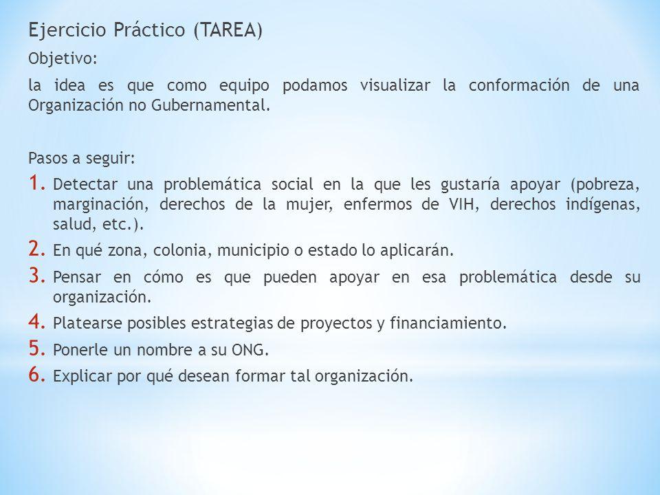 Ejercicio Práctico (TAREA)