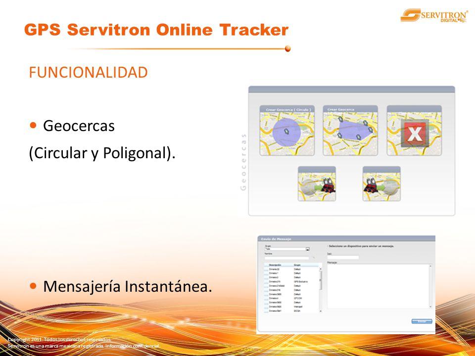 GPS Servitron Online Tracker