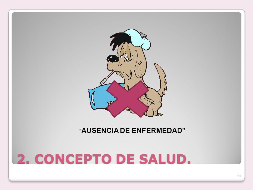 AUSENCIA DE ENFERMEDAD