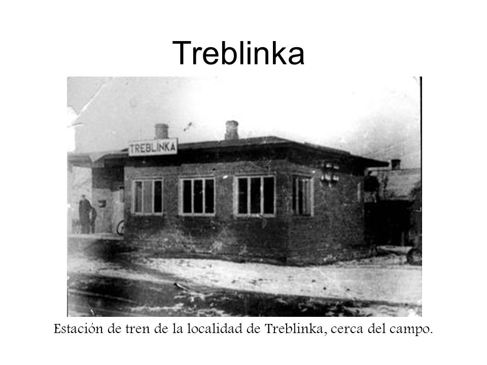 Estación de tren de la localidad de Treblinka, cerca del campo.