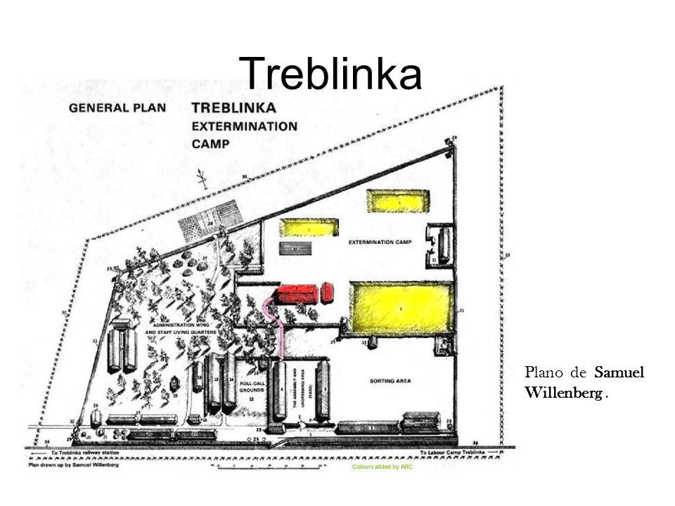 Treblinka Plano de Samuel Willenberg . Instructor Note: