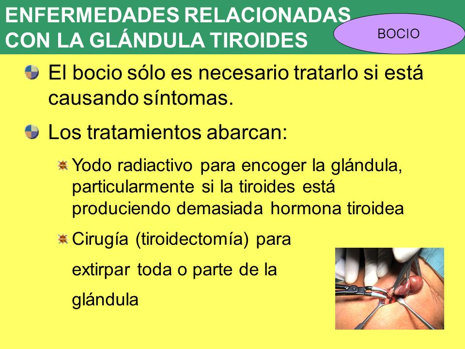 ENFERMEDADES RELACIONADAS CON LA GLÁNDULA TIROIDES