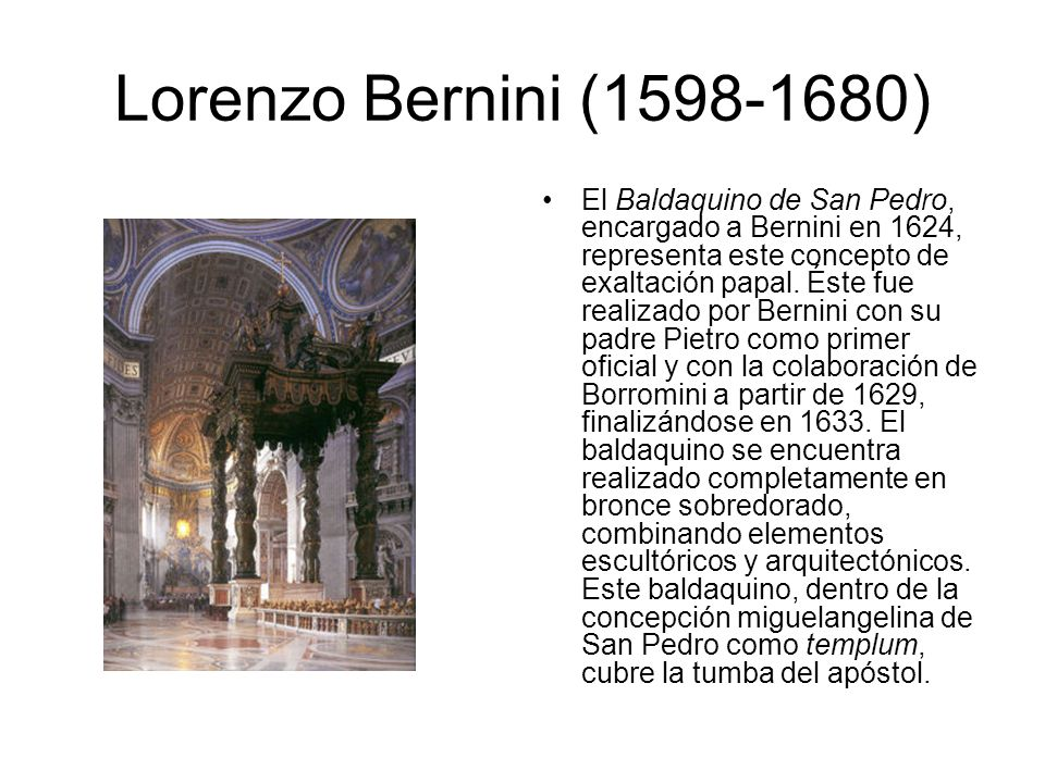 Lorenzo Bernini (1598-1680)