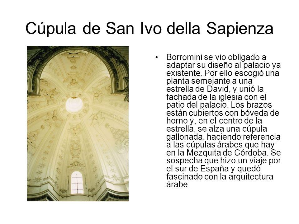 Cúpula de San Ivo della Sapienza