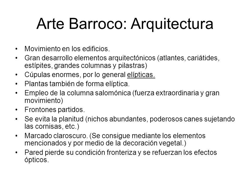 Arte Barroco: Arquitectura